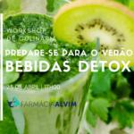 Prepare-se para o verão - Bebidas Detox