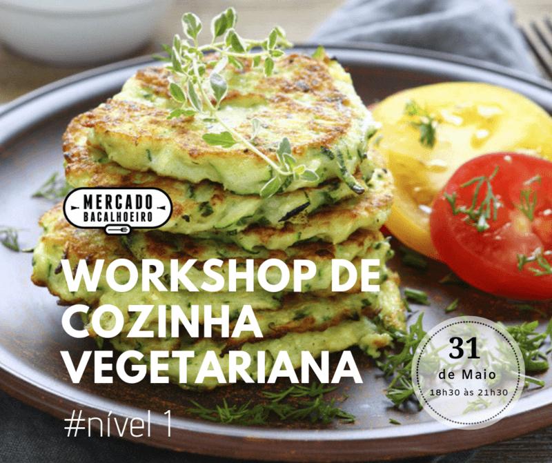 Workshop de cozinha vegetariana nível 1