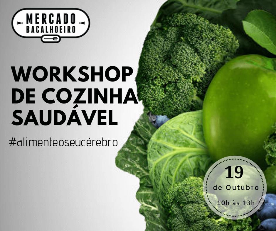 Workshop de cozinha saudável