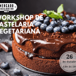 Workshop de pastelaria vegetariana