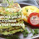Workshop de cozinha vegetariana nível 1 (6ª Edição)
