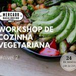 Workshop de cozinha vegetariana nível 2