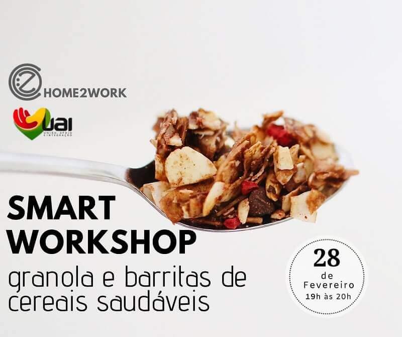 SMART Workshop de Granola e Barritas saudáveis